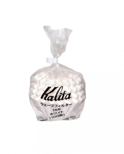 Kalita職人 155系列濾杯蛋糕型專用波紋濾紙(一袋)