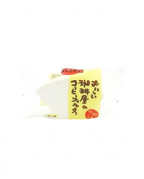 日本三洋咖啡屋梯形濾紙 OCW-102 (漂白)